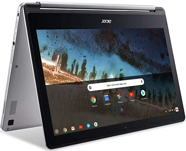 "Newest Flagship Acer R13 13.3"" Convertible 2-in-1 Full HD IPS Touchscreen Chromebook"