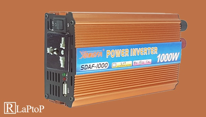 Use a power inverter