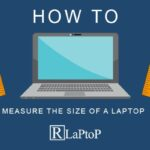 how to measure the size of a laptop