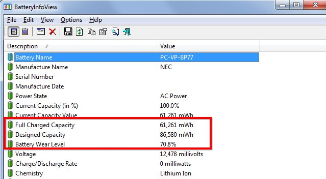 How to Check Your Laptop's Battery Capacity