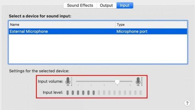 M4 Adjust the volume