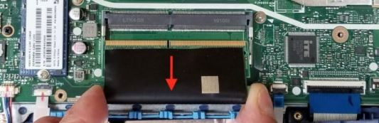 Removing RAM, 2.5″ HDD and M.2 SSD step9