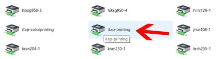 Find Printers That You Want to Add and Double Click It